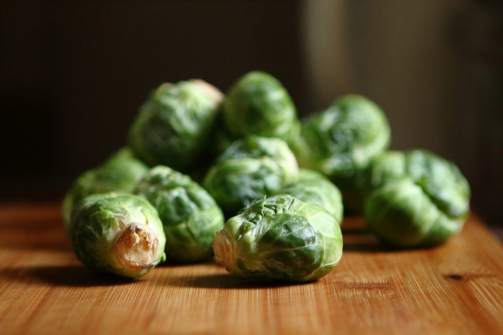 Rich in soluble fibre - brussels sprouts